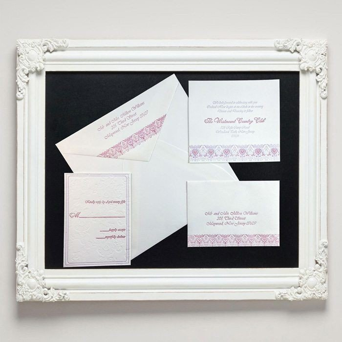 Brocade-Luxury-Letterpress-Wedding-Suite-Framed-Letterpress-Jess