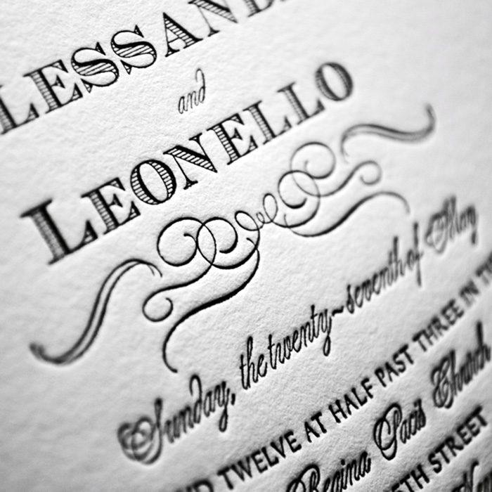 Chateau-Letterpress-Wedding-Invitation-Close-Up
