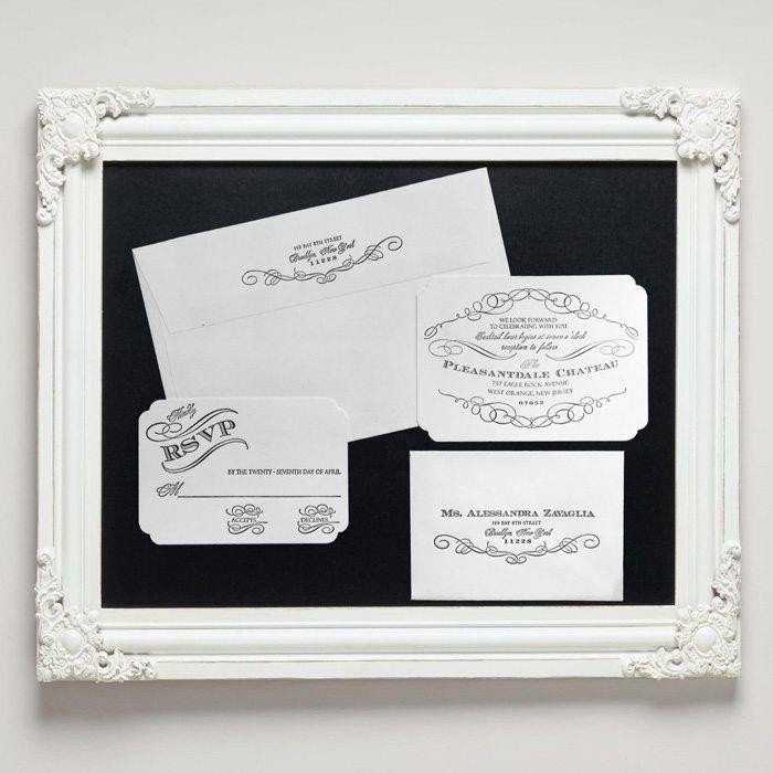 Chateau-Luxury-Letterpress-Wedding-Suite-Framed-Letterpress-Jess