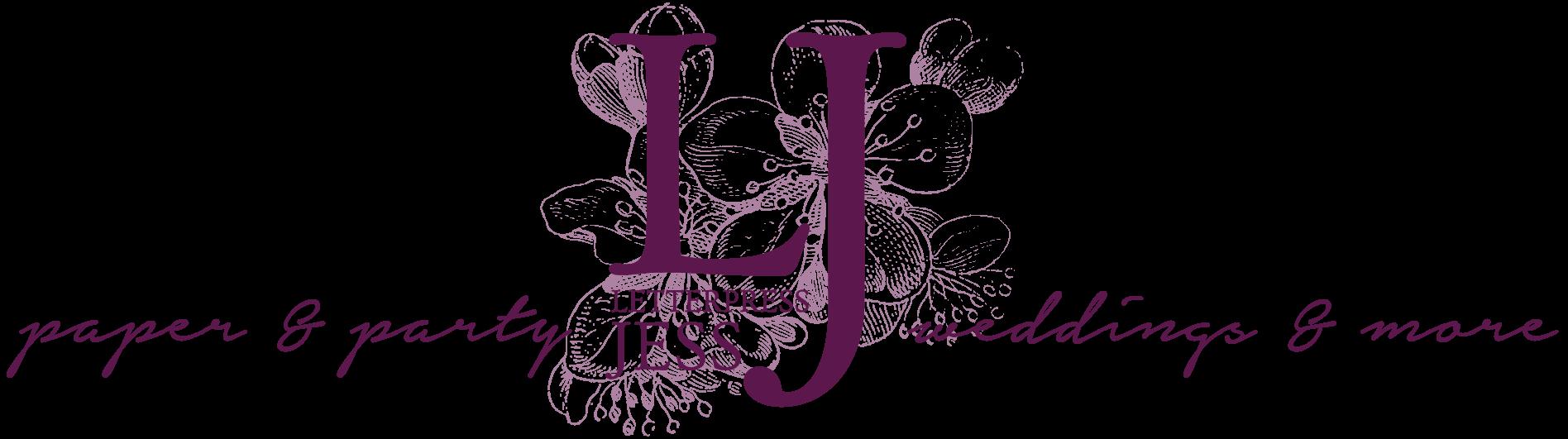 Letterpress Jess