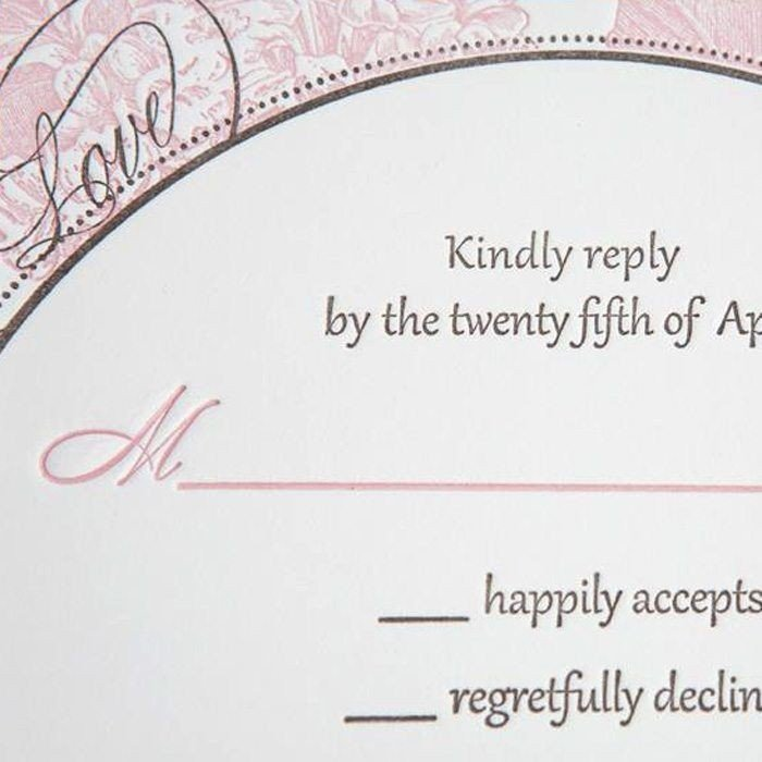 Love-Script-Luxury-Letterpress-Wedding-Response-Card