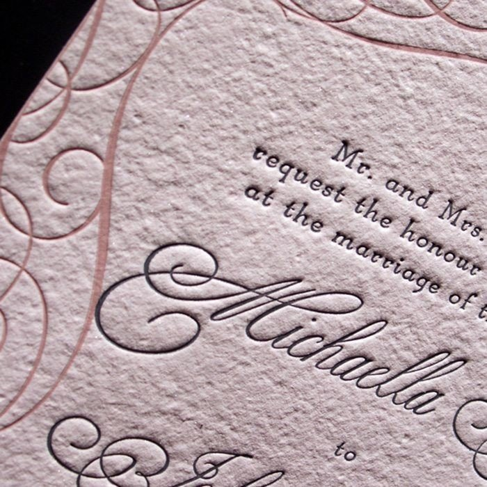 Mademoiselle-Luxury-Letterpress-Wedding-Invitation-Detail