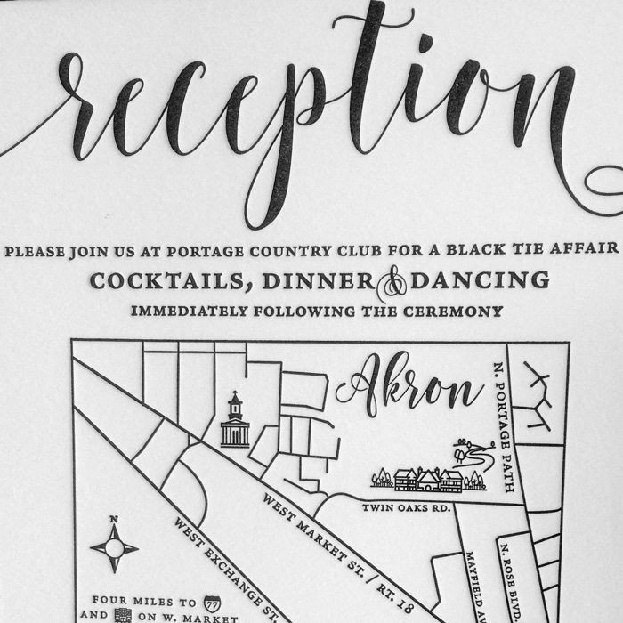 Marshall-Letterpress-Wedding-Reception-Card-Map-Detail