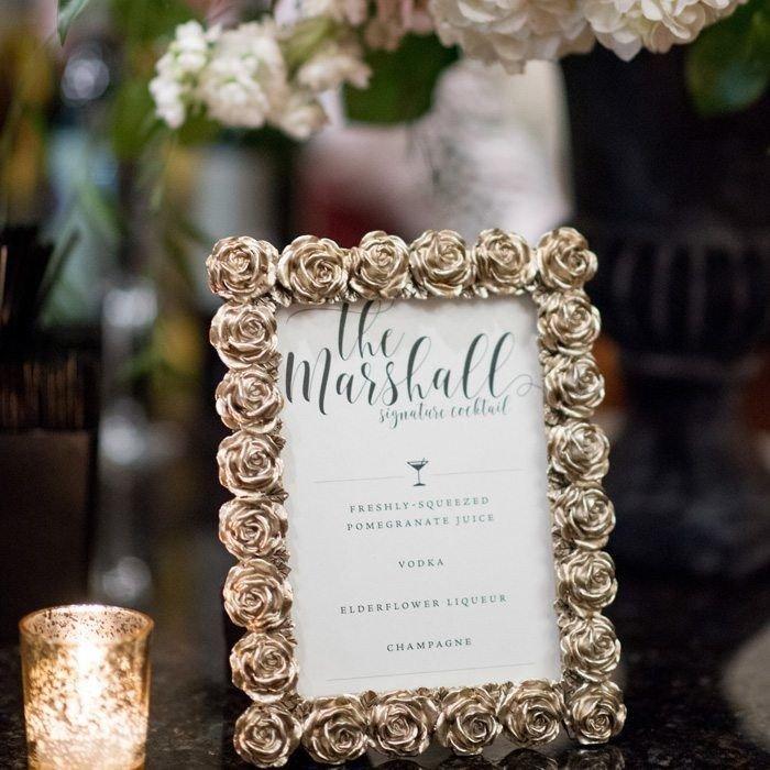 Marshall-Luxury-Letterpress-Wedding-Cocktail-Menu-Sign