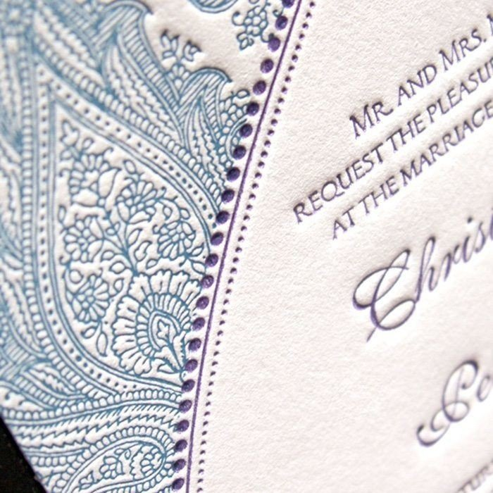 Morocco-Luxury-Letterpress-Wedding-Invite-Detail