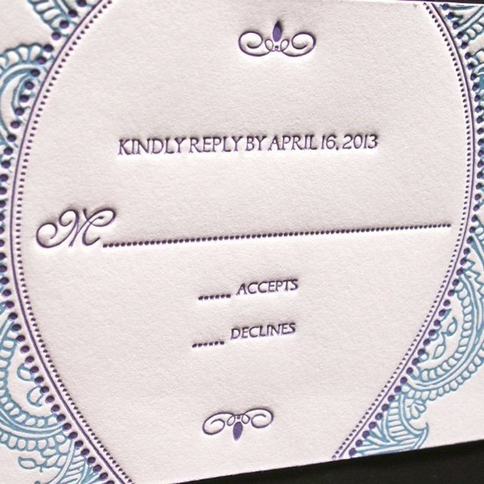 Morocco-Luxury-Letterpress-Wedding-Response-Card