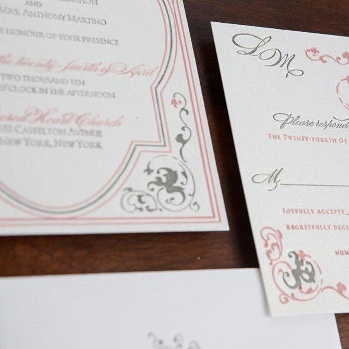 Parisienne-Luxury-Letterpress-Wedding