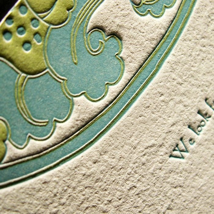Waterlily-Luxury-Letterpress-Close-Up