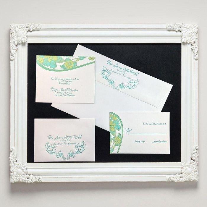 Waterlily-Luxury-Letterpress-Wedding-Suite-Framed-Letterpress-Jess