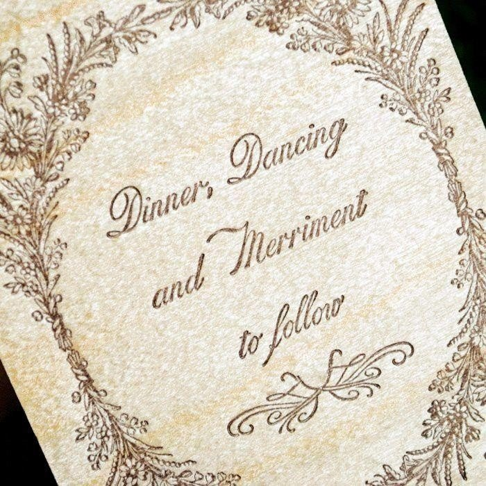 Woodland-Luxury-Letterpress-Reception-Card