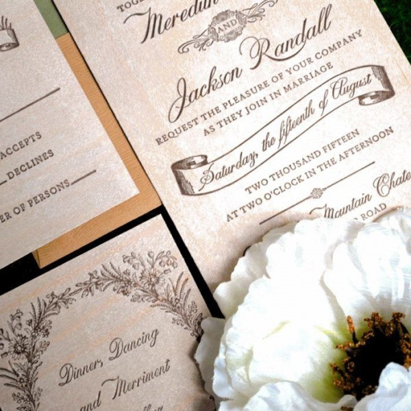 Woodland-Luxury-Letterpress-Suite