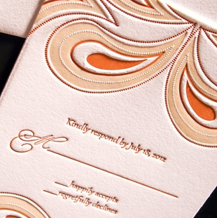 Paisley-Luxury-Letterpress-Wedding-Repsonse-Card