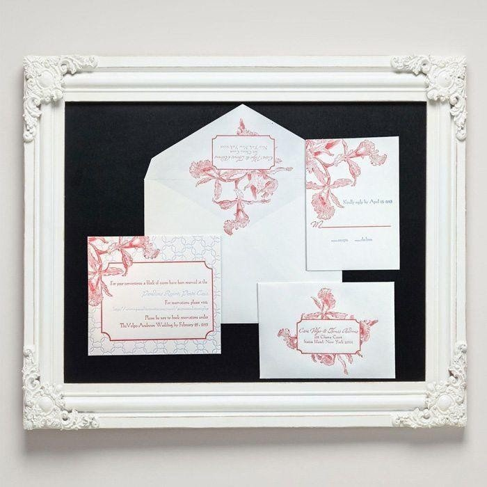 Tropic-Luxury-Letterpress-Wedding-Suite-Framed-Letterpress-Jess