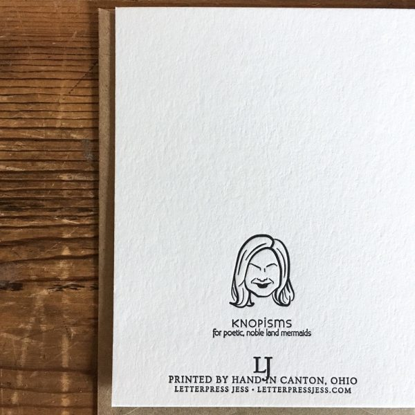 Knopism-Back-Leslie-Knope-Parks-and-Rec-letterpress-card