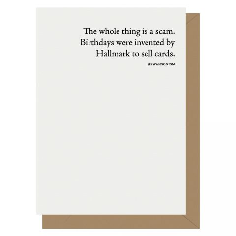 Birthdays-are-a-scam-Ron-Swanson-Letterpress-Jess