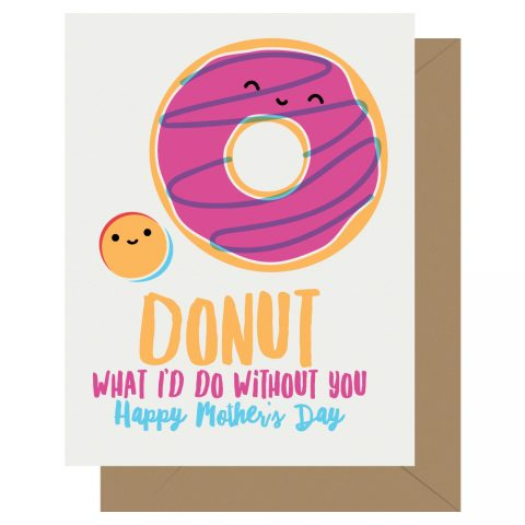 Donut-Mother's-Day-Cutie-Kawaii-Letterpress-Jess