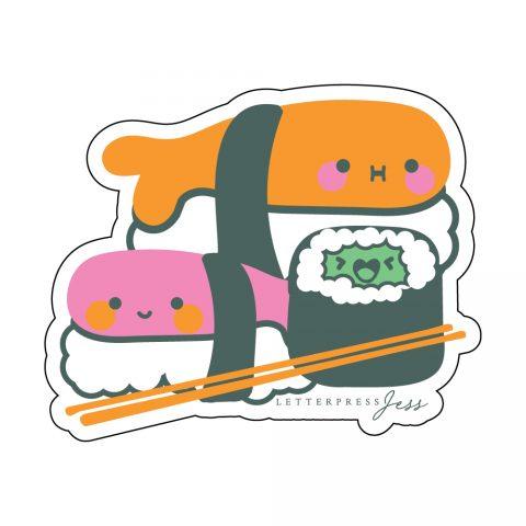 Sushi-Cutie-Kawaii-Sticker-Letterpress-Jess