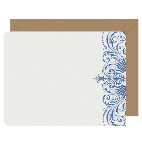 Royal Lace letterpress notecards from Letterpress Jess
