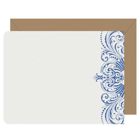 Royal Lace letterpress notecards from Letterpress Jess