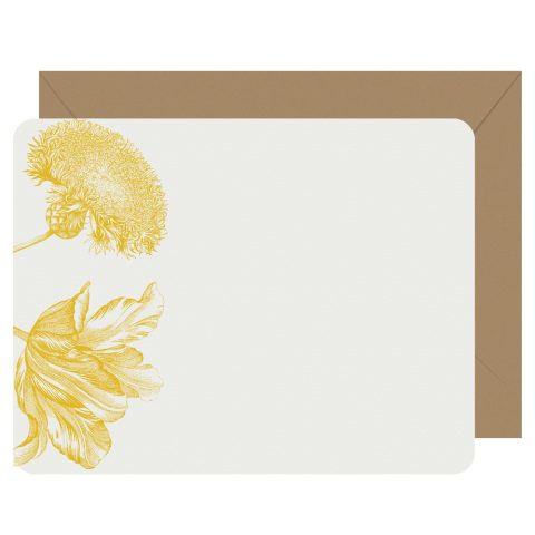Rustic Romance letterpress notecards from Letterpress Jess