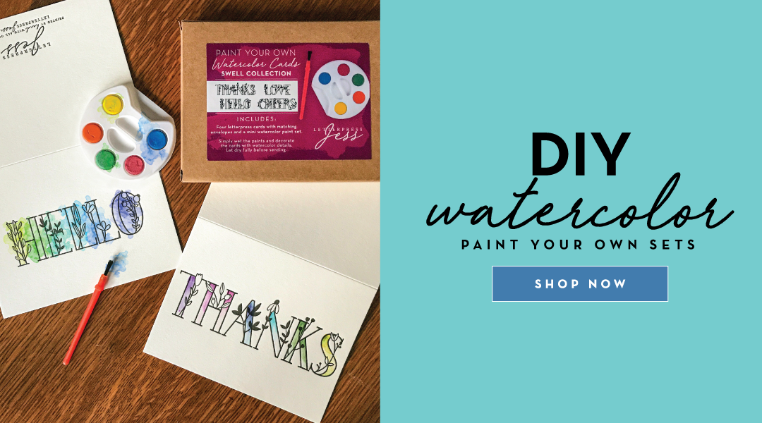DIY Water Color. Paint your own sets. Shop now!