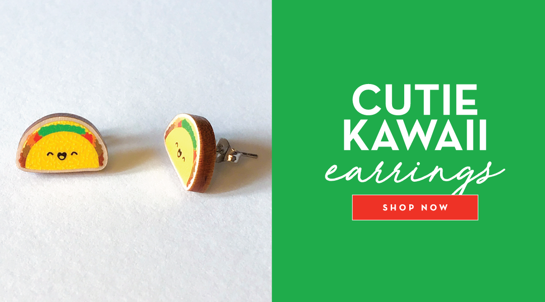 Cute Kawaii earrings! Shop Now!