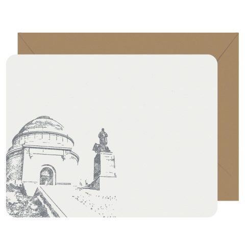 Canton McKinley Monument Flat Letterpress Notecards