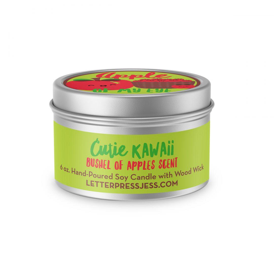 Apple Scent Cutie Kawaii Candle