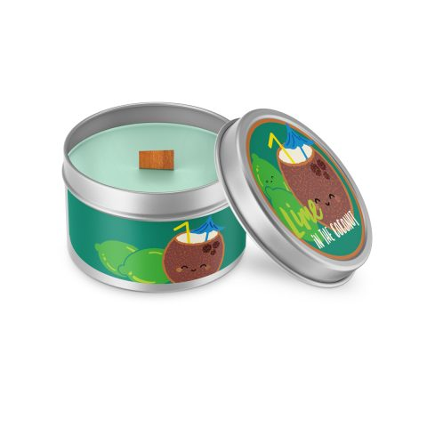 Lime in the Coconut Cutie Kawaii Candle