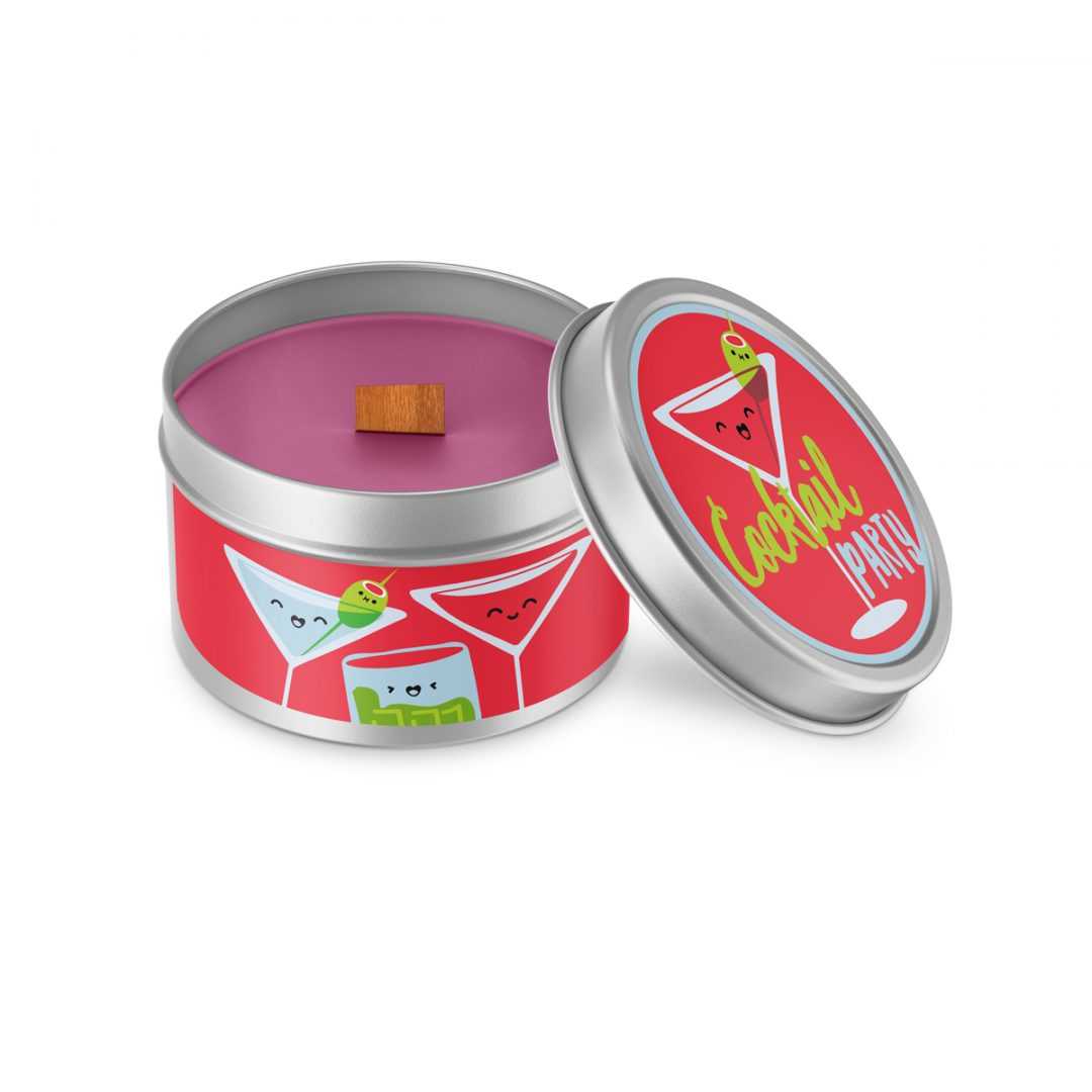 Cocktail Party Cutie Kawaii Candle