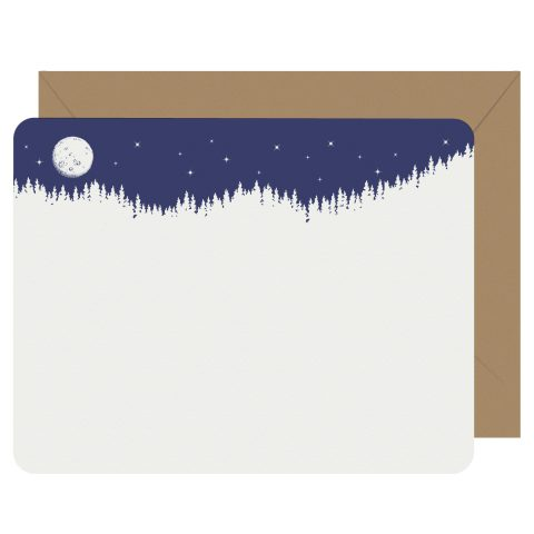 Moonlight Letterpress Jess Notecards
